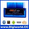 Mini V1.5 ELM327 OBD2 Bluetooth Interface Auto Car Scanner obdii obd ii Diagnostic Tool works on Android Windows Symbian