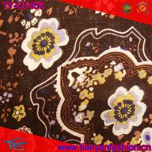 llegada nueva cosecha de algodón patrónimpreso diseño de la tela en china