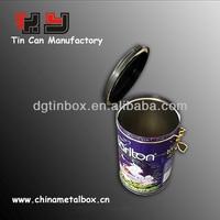 Airtight coffee tin case