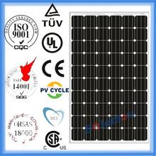 260 watt high efficient solar flat panels for sale cheap with TUV UL CE