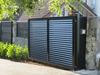 Powder coating aluminum slat fence