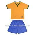 Crianças atacado esportes uniforme, crianças futebol jersey modelo, futebol original baixo preço