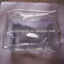 custom pvc bag for cosmetic gift packing