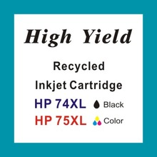 Replacement for HP 74 74XL 75 75XL Inkjet Cartridge