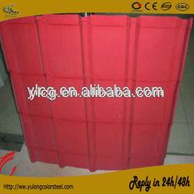 wear resistant corrugated steel sheet roof tile