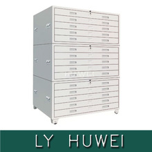 New design 30 drawer metal file cabinet