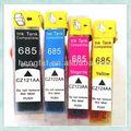 2014 nuevo compatible cartucho de tinta 685 para impresora HP para HP Deskjet 3525 / 4615 / 6525 / 5525 / 4625