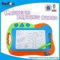 Nueva educativos kids borrable magnético tablero de dibujo
