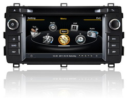 two din Car DVD Player With TV/AM/FM/Bluetooth/USB/SD CARD/GPS for Toyota Auris