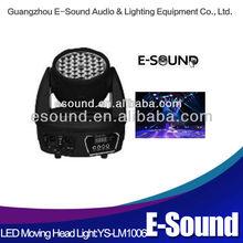 Guangzhou led lighting equipment 36*1w/3w led disco moving lights