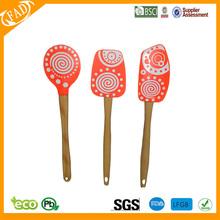 Colorful silicone spatulas/heat protection kitchen accessories spatula