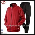Mens sport wear poliéster ropa de entrenamiento