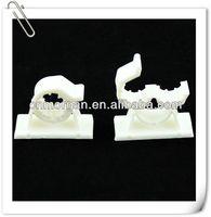 Plastic self adhesive wire clips
