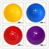 Blank golf ball with various package