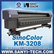 SinoColor KM-3208, Konica Flex Printing Machine, KM512 42PL Printhead