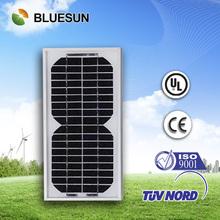 Bluesun most popular mini 1.5 watt solar panel on house roof for home use