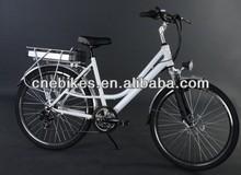 26'' lady city three wheel electric motor bike