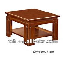Wooden corner tea/end table for sofa set(FOHS-F17)