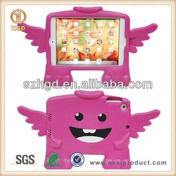 Children friendly soft EVA Foam kids case for ipad mini