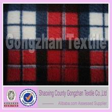 100% polyester polar fleece anti pilingl fleece fabric