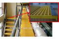 Marches d'escalier en fibre de verre réseau