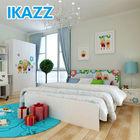 mdf modern kids single bed room suit design with storage for sale