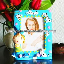 Resin cute photo frame children photo frame/lovely cartoon photo frame