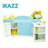 ikea modern children bedroom furniture loft bed with desk