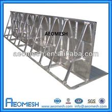 Stage Platform Barrier / Aluminum Hurdle Barricade For Concert Used