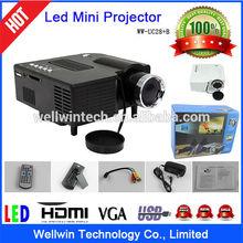Portable Game & Movie Multimedia Mini LED Digital Projector Media Player
