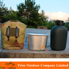 Mlitary 1L Kettle with lunch box Military 10 Kettle Camouflage water bottle