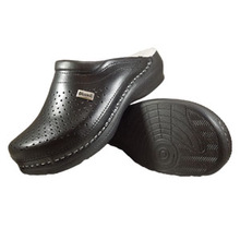 """Leather clog """"Donna"""""""