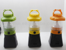 Portable Rechargeable LED Solar Camping Lantern Light KB2709NS