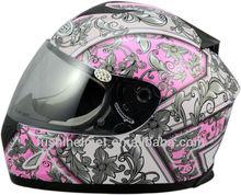 Heavy Ladies full face motorcycle helmet 606