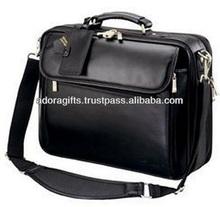 ADALLB - 0008 best laptop messenger bag / leather laptop bag for promotion / leather laptop carry cases bag