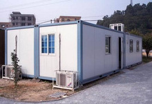 20feet prefab container,container house