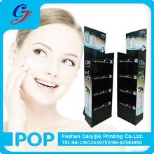 Hair shampoo/skin care/cosmetic pop up shelf floor display