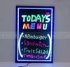 Aliexpress power saving led chalkboard for adverising with remote controll