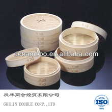 high quality round bamboo steamer