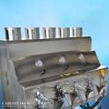 cromo chapado de pulverización de la máquina para la decoración del coche