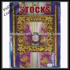 square decorative painting plastic curtain tiebacks ring