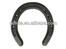Forged zinc steel horseshoe