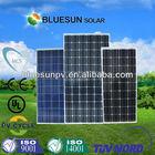 Bluesun cheap price mono 110w solar panel philippine dealer in China cheap shipping cost