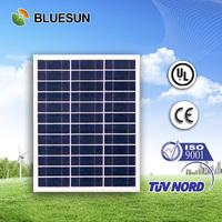 Bluesun most attractive design cheap price poly 50w solar panel traffic light