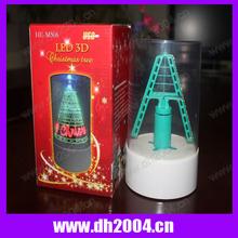 Christmas gifts USB powered Christmas tree Rotating led message tree Singing Christmas tree