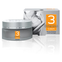 3 Dimension Professional Breast Shaping, Firming, Decollete Cream-With Minerals