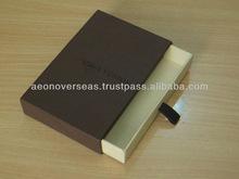 Handmade Cardboard Sliding Gift Box customized
