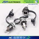 2.1mm or 2.5mm dc panel mount power jack/power socket/dc power plug