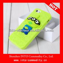 Cute Carton Little Green Man Case For Iphone 4/4s