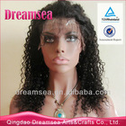 Natural Kinky Curl Hair Wig For American African Women